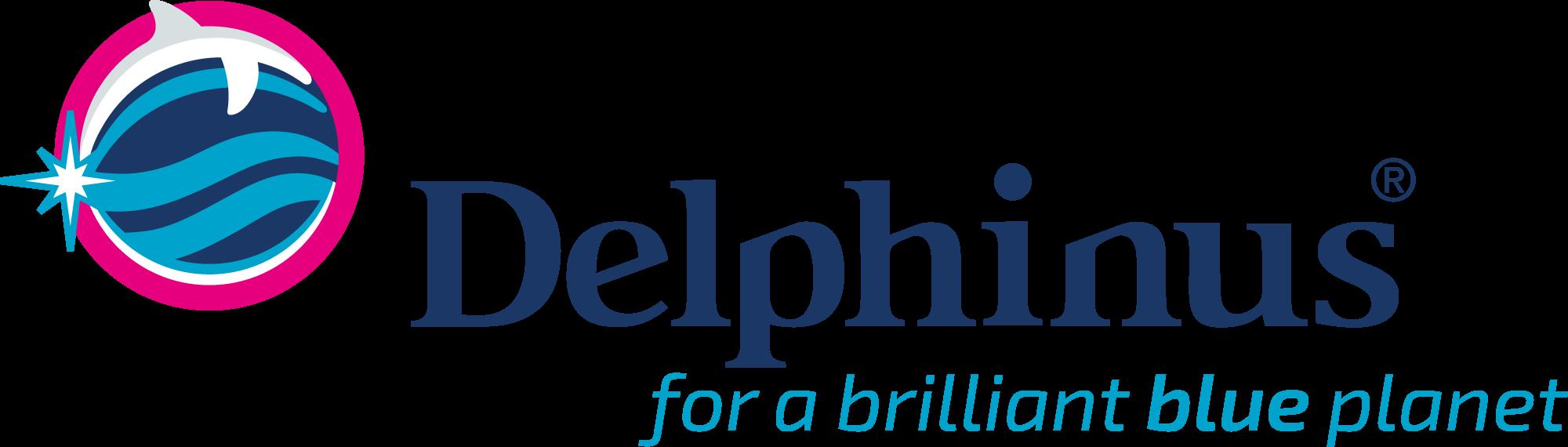 Logo Delphinus nado con delfines